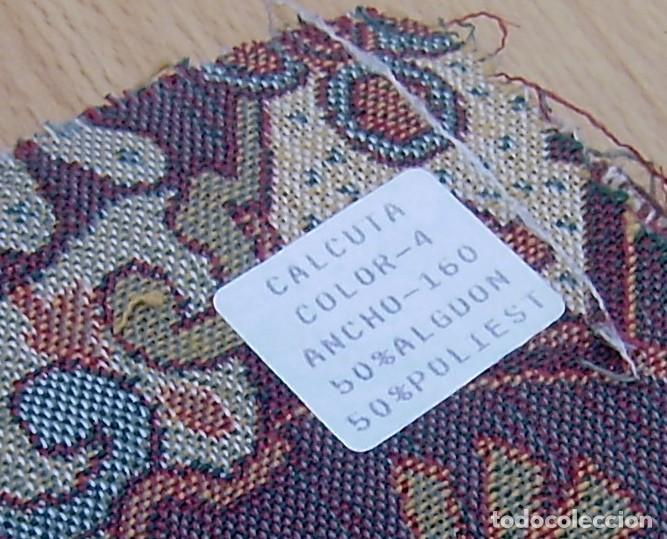 Vintage: Super lote de mas de 300 muestrario de telas. - Foto 14 - 150850410