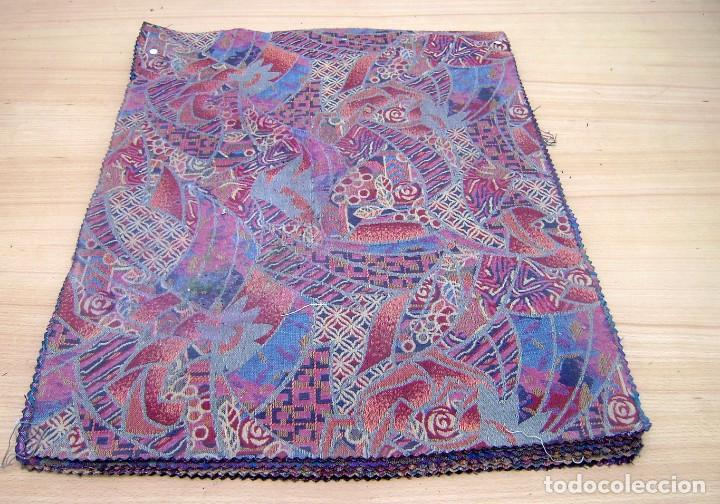 Vintage: Super lote de mas de 300 muestrario de telas. - Foto 16 - 150850410