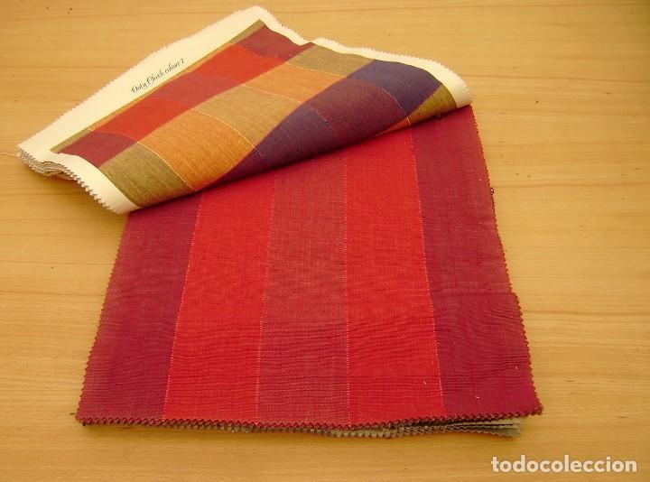 Vintage: Super lote de mas de 300 muestrario de telas. - Foto 25 - 150850410