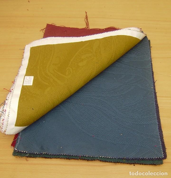 Vintage: Super lote de mas de 300 muestrario de telas. - Foto 28 - 150850410