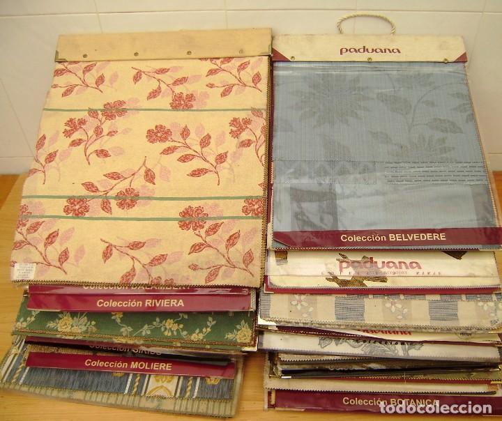 Vintage: Super lote de mas de 300 muestrario de telas. - Foto 29 - 150850410