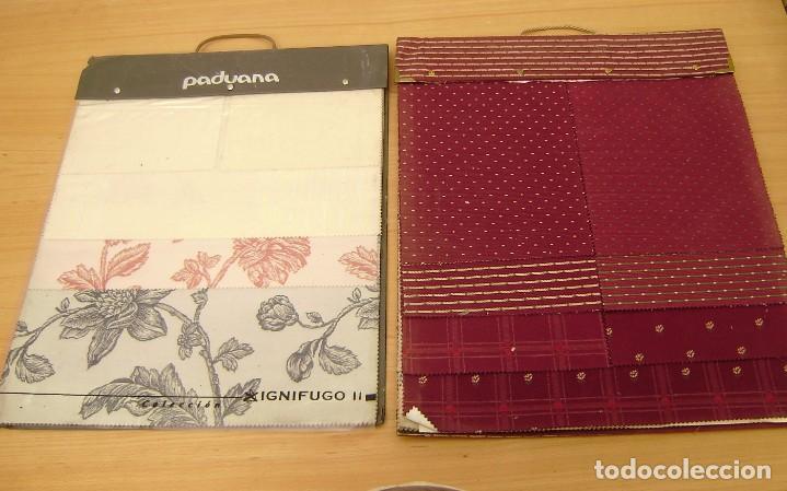 Vintage: Super lote de mas de 300 muestrario de telas. - Foto 34 - 150850410