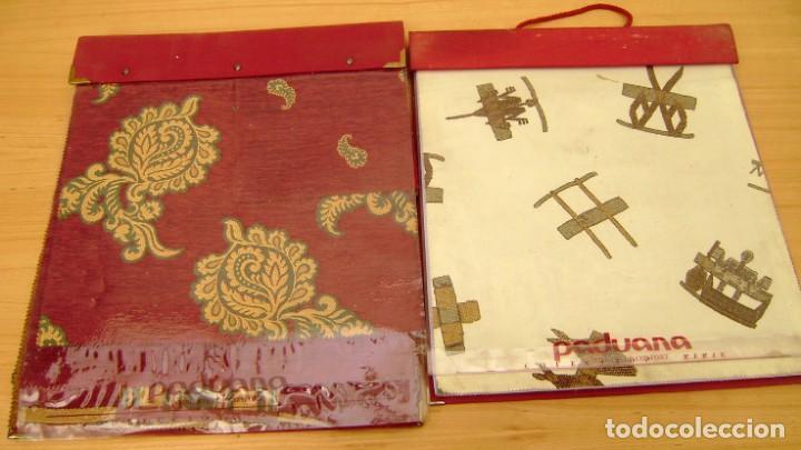 Vintage: Super lote de mas de 300 muestrario de telas. - Foto 35 - 150850410