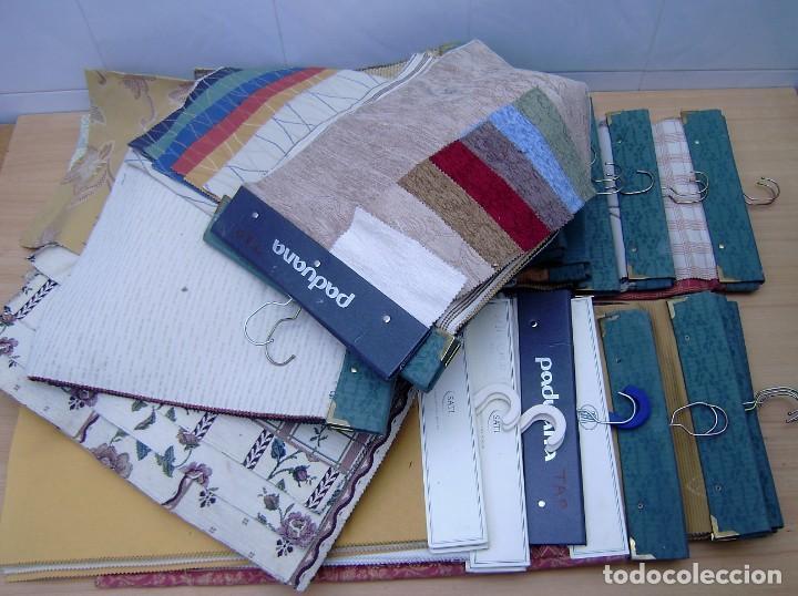 Vintage: Super lote de mas de 300 muestrario de telas. - Foto 43 - 150850410