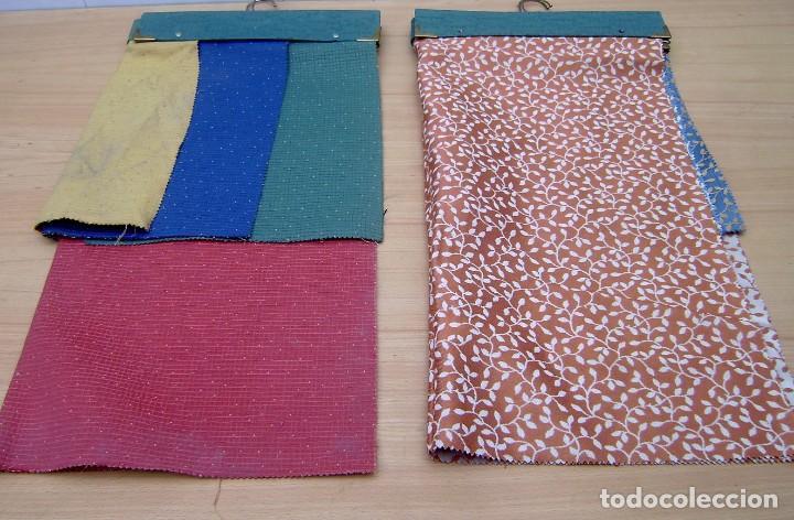 Vintage: Super lote de mas de 300 muestrario de telas. - Foto 46 - 150850410