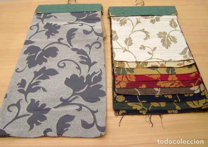 Vintage: Super lote de mas de 300 muestrario de telas. - Foto 48 - 150850410