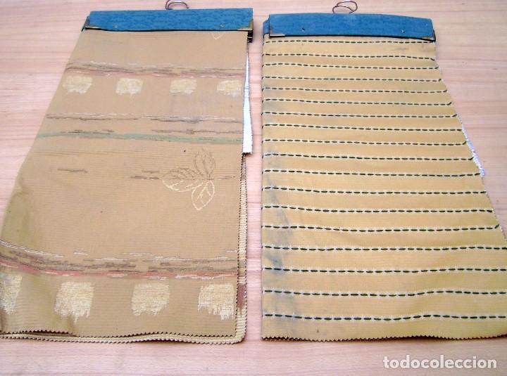 Vintage: Super lote de mas de 300 muestrario de telas. - Foto 49 - 150850410