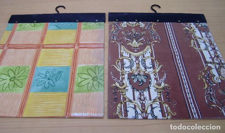 Vintage: Super lote de mas de 300 muestrario de telas. - Foto 52 - 150850410