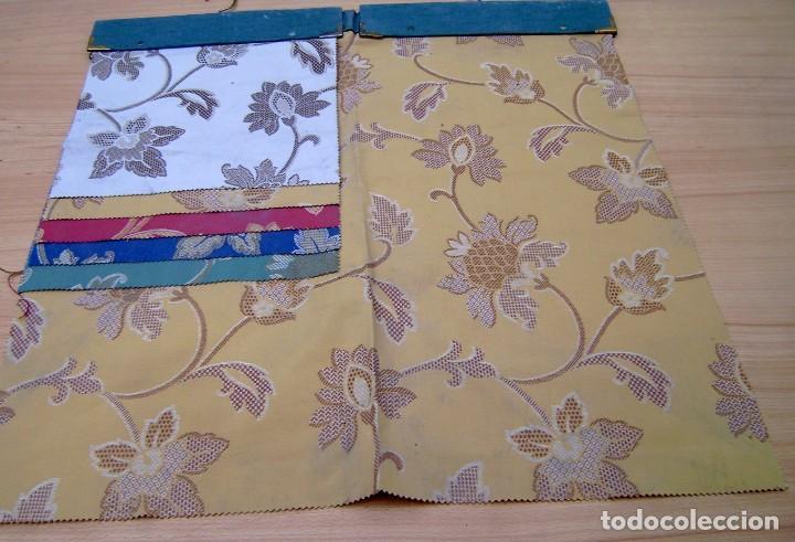 Vintage: Super lote de mas de 300 muestrario de telas. - Foto 59 - 150850410