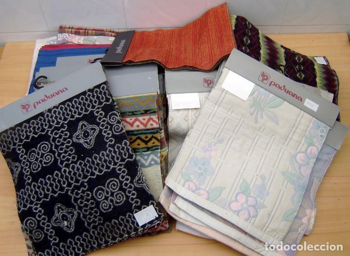 Vintage: Super lote de mas de 300 muestrario de telas. - Foto 62 - 150850410