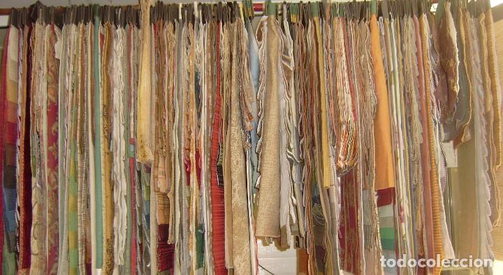 Vintage: Super lote de mas de 300 muestrario de telas. - Foto 63 - 150850410