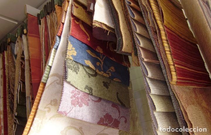 Vintage: Super lote de mas de 300 muestrario de telas. - Foto 64 - 150850410