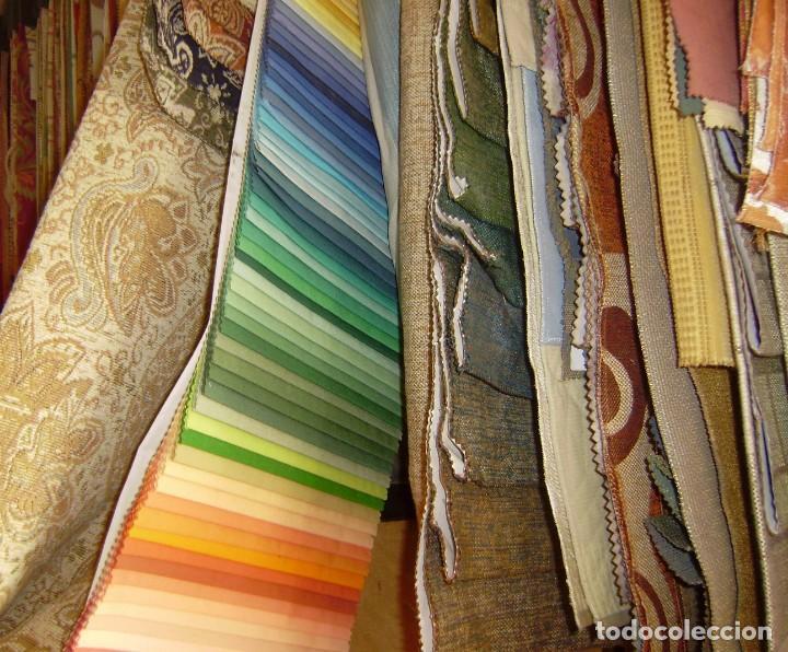 Vintage: Super lote de mas de 300 muestrario de telas. - Foto 65 - 150850410