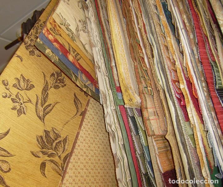 Vintage: Super lote de mas de 300 muestrario de telas. - Foto 66 - 150850410