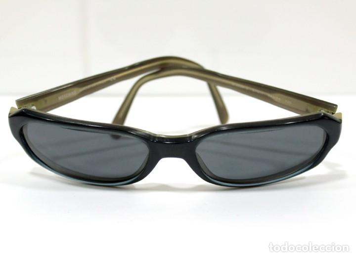 GAFAS VINTAGE SOL MUJER MOSCHINO MOD. M3598-S 57#17 249/46 130 MADE IN ITALY. (Vintage - Moda - Complementos)