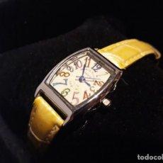 Vintage: RELOJ CON CORREA DE PIEL. Lote 151003354