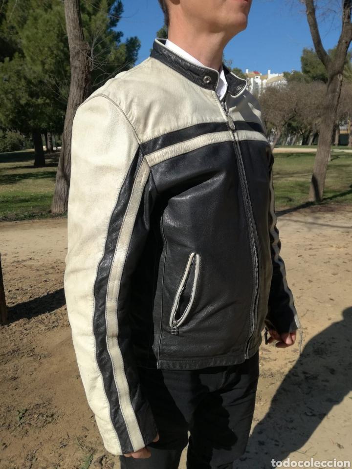 Vintage: No ofertas ! Magnifica chaqueta alemana cuero legítimo moto. Portes incluidos - Foto 4 - 150244792