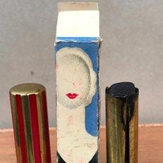 Vintage: ANTIGUO PINTALABIOS FLORALIA ROJO TENAZ EN CAJA . Lote 151499670