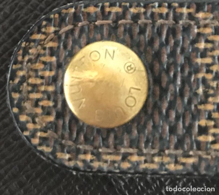 Vintage: Cartera billetera Louis Vuitton. Damier. Cuero 100%. Made in France. - Foto 14 - 151971108