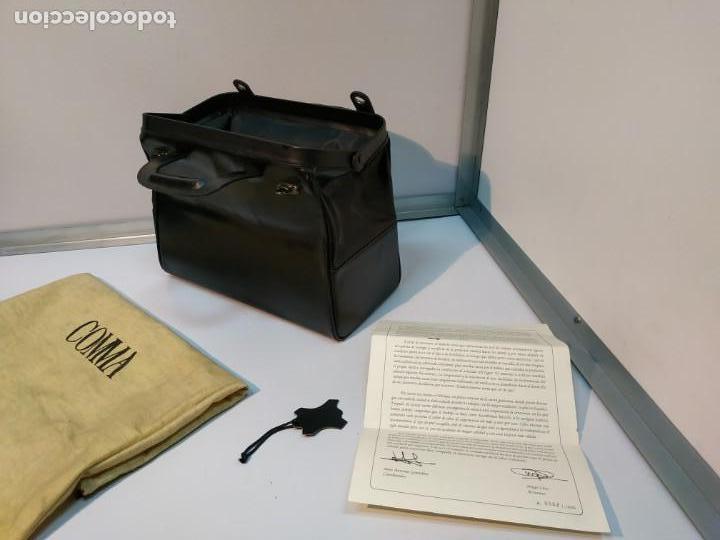 Vintage: MALETIN ANTIGUO DE MEDICO EN CUERO DE UBRIQUE A ESTRENAR - Foto 8 - 152348906