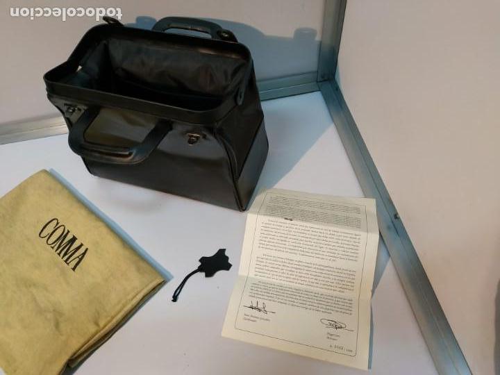 Vintage: MALETIN ANTIGUO DE MEDICO EN CUERO DE UBRIQUE A ESTRENAR - Foto 11 - 152348906