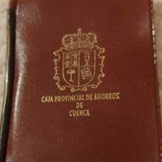 Vintage: ANTIGUO PORTA BILLETES DE PLÁSTICO CAJA PROVINCIAL DE AHORROS DE CUENCA. Lote 153420332
