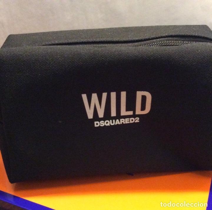 Vintage: Envio 8€. Neceser WILD marca DSQUARED2 de lona negra en su caja metálica original. - Foto 11 - 154360714