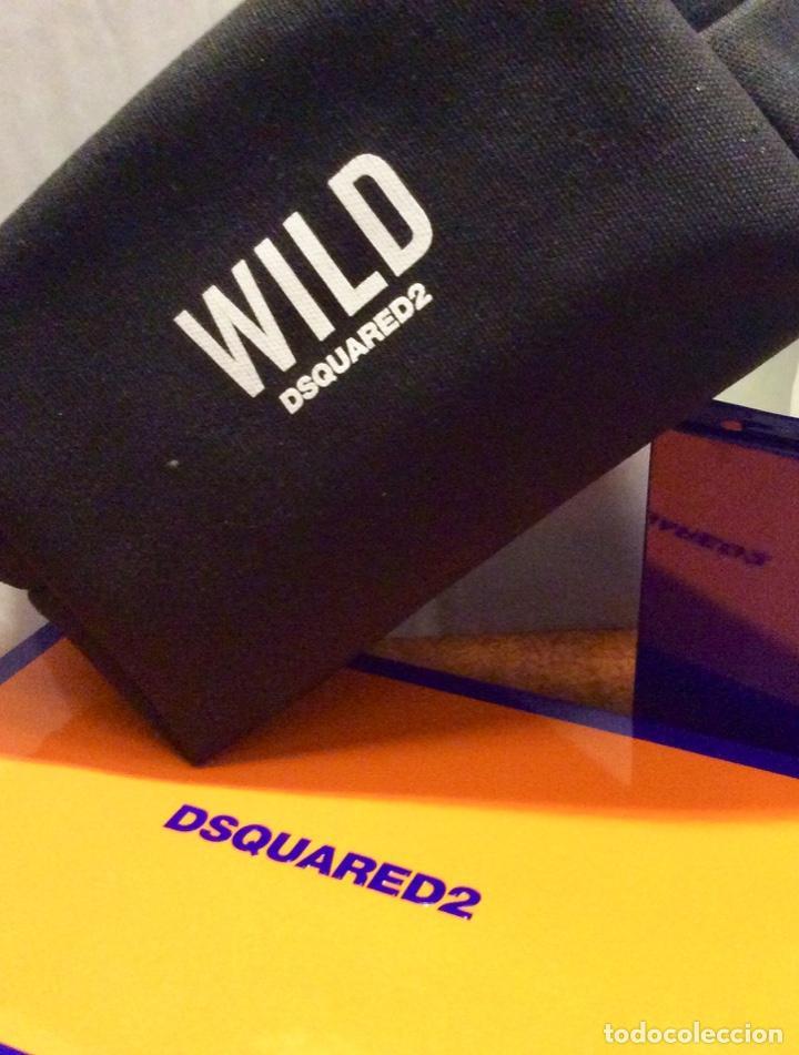 Vintage: Envio 8€. Neceser WILD marca DSQUARED2 de lona negra en su caja metálica original. - Foto 5 - 154360714