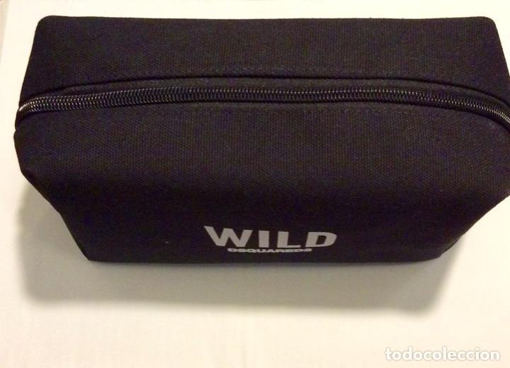 Vintage: Envio 8€. Neceser WILD marca DSQUARED2 de lona negra en su caja metálica original. - Foto 8 - 154360714