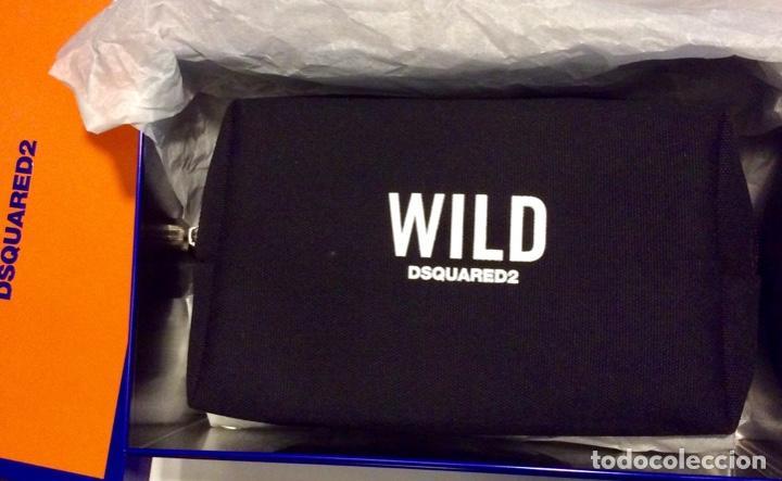 Vintage: Envio 8€. Neceser WILD marca DSQUARED2 de lona negra en su caja metálica original. - Foto 9 - 154360714