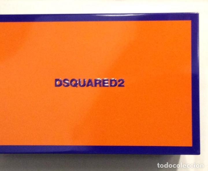Vintage: Envio 8€. Neceser WILD marca DSQUARED2 de lona negra en su caja metálica original. - Foto 12 - 154360714
