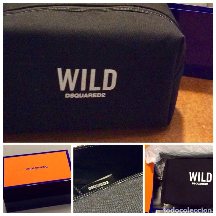 Vintage: Envio 8€. Neceser WILD marca DSQUARED2 de lona negra en su caja metálica original. - Foto 14 - 154360714