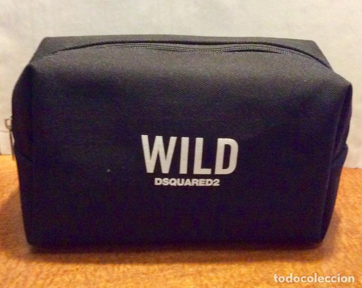 Vintage: Envio 8€. Neceser WILD marca DSQUARED2 de lona negra en su caja metálica original. - Foto 2 - 154360714