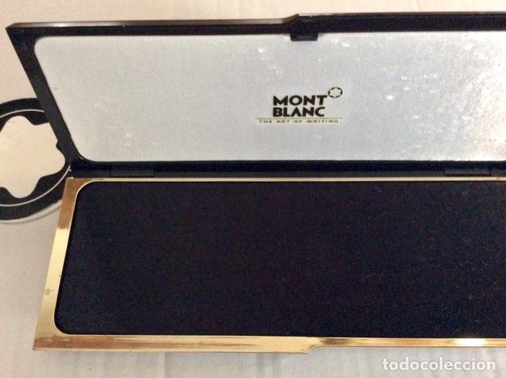 Vintage: Envío 8€. Estuche de regalo de la firma MONT BLANC AÑOS 80 con mini libreta logo marca - Foto 3 - 154368086