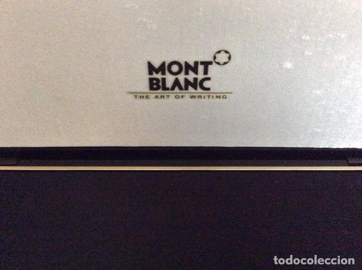 Vintage: Envío 8€. Estuche de regalo de la firma MONT BLANC AÑOS 80 con mini libreta logo marca - Foto 4 - 154368086