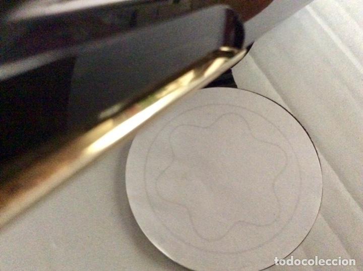 Vintage: Envío 8€. Estuche de regalo de la firma MONT BLANC AÑOS 80 con mini libreta logo marca - Foto 8 - 154368086