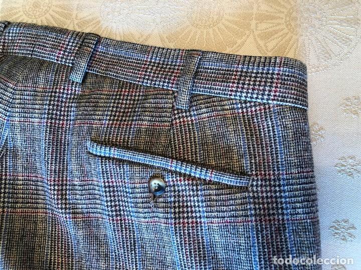 Vintage: Pantalón de cuadros. Nuevo. Gant. Hipster. U.S.A. Estados Unidos - Foto 3 - 154395666