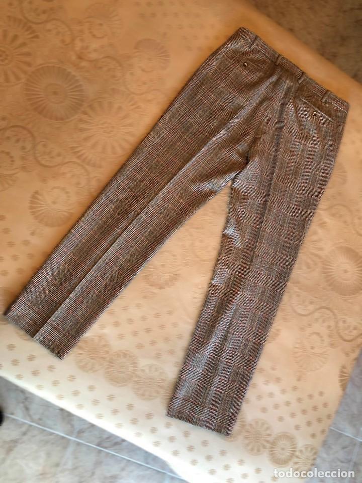 Vintage: Pantalón de cuadros. Nuevo. Gant. Hipster. U.S.A. Estados Unidos - Foto 4 - 154395666