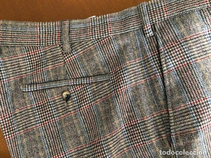 Vintage: Pantalón de cuadros. Nuevo. Gant. Hipster. U.S.A. Estados Unidos - Foto 7 - 154395666