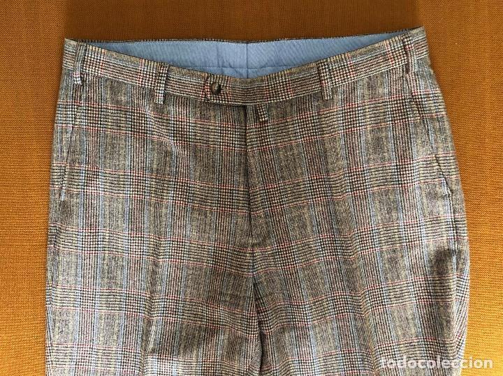 Vintage: Pantalón de cuadros. Nuevo. Gant. Hipster. U.S.A. Estados Unidos - Foto 9 - 154395666
