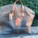 Vintage: MALETA DE PIEL. Lote 154685961