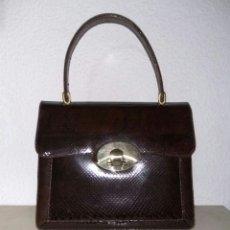 Vintage: BOLSO PIEL SERPIENTE. Lote 154794692
