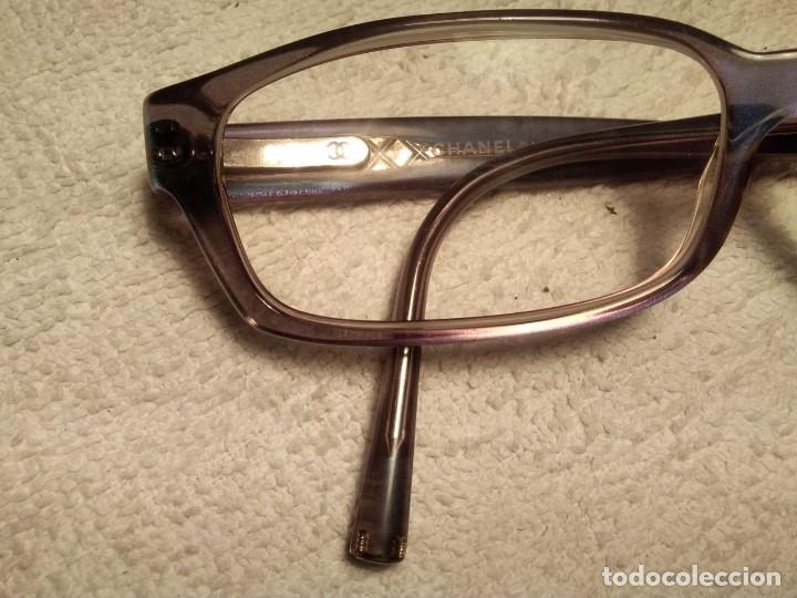 Vintage: Gafas ( CHANEL MOD 3013 ) EJECUTIVA, COMERCIAL. CRISTAL GRADUADO MONTURA EN BUEN ESTADO - Foto 3 - 155247598
