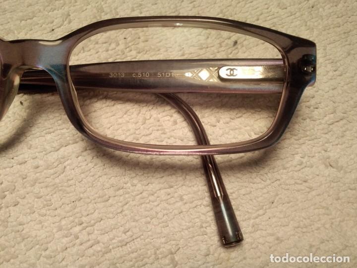 Vintage: Gafas ( CHANEL MOD 3013 ) EJECUTIVA, COMERCIAL. CRISTAL GRADUADO MONTURA EN BUEN ESTADO - Foto 4 - 155247598
