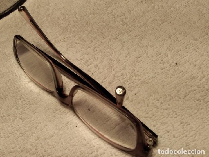 Vintage: Gafas ( CHANEL MOD 3013 ) EJECUTIVA, COMERCIAL. CRISTAL GRADUADO MONTURA EN BUEN ESTADO - Foto 13 - 155247598