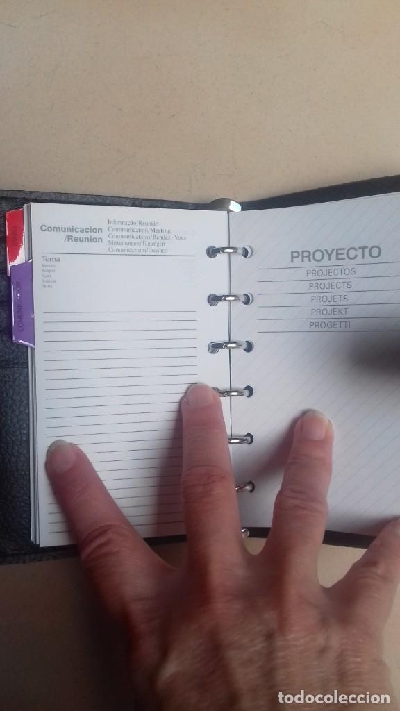 Vintage: Agenda de bolsillo 6 anillas nueva - Foto 2 - 155475086
