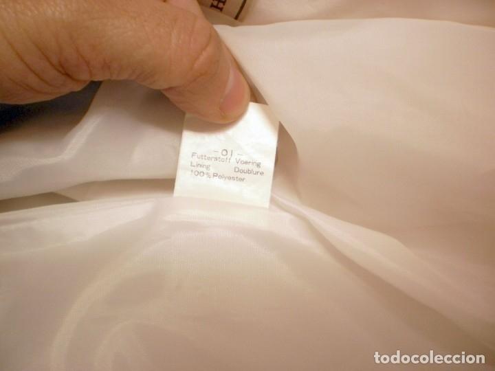 Vintage: HUCKE. Chaqueta entretiempo mujer color blanco. Talla 40. POCO USO - Foto 5 - 155600858