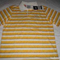 Vintage: POLO ADIDAS VINTAGE SIN USAR (TODAVIA CON LA ETIQUETA) TALLA M, PARA JOVEN DE 1,65-1,70 ALTURA. Lote 156109770