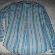 Vintage: BONITA CAMISA VINTAGE HOMBRE ADOLFO DOMÍNGUEZ, U TALLA XL, LINO Y ALGODÓN. Lote 156113630