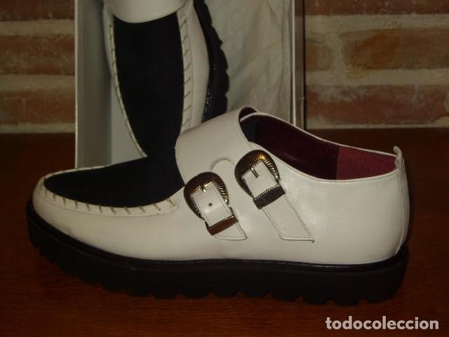 Vintage: ZAPATOS BUGGIES, TIGUES.ORIGINALES AÑOS 70-80.ROCKABILLY - Foto 5 - 156831666